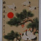 Large Hand Painting Chinese Scroll Art (B &T)