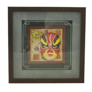 3D Wall Picture Frame w/ Chinese Opera Face (XC3039A)