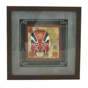 3D Wall Picture Frame w/ Chinese Opera Face (XC-3039C)