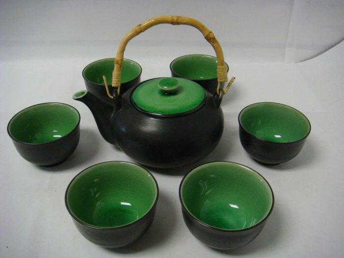 Contemporary Art Decor Porcelain tea set 7 pcs (DB340)