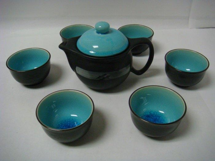 Contemporary Art Decor Porcelain tea set 7 pcs (DB341)