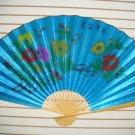 """Classic 35"""" Oriental Feng Shui Wall Fan"""