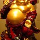 Lucky Buddha Grabbing Money Bag (XL)