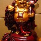 Buddha Grabbing Chinese Coins (XL)