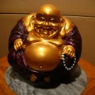 -Ball Shape Happy Sitting Buddha