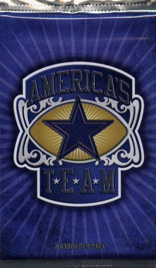 DALLAS COWBOY'S AMERICA'S TEAM  PACK UPPER DECK  HOT ITEM!!!