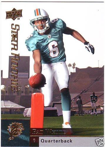 2009 Upper Deck PAT WHITE Star Rookie #303 Limited SP