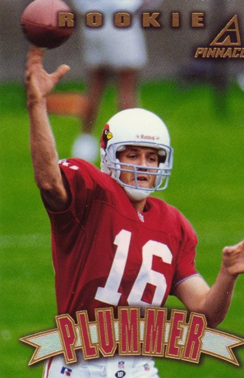 Jake Plummer Rookie Pinnacle 1997 Trading Card Arizonia Cardinals
