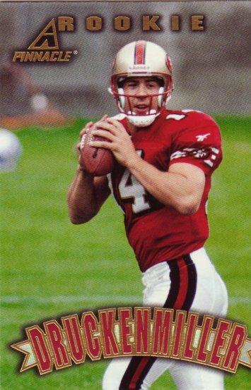 Jim Druckenmiller Rookie Pinnacle 1997 Trading Card 49ers