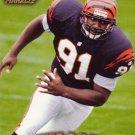 Reinard Wilson Rookie Pinnacle 1997 Trading Card Bengals