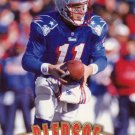 Drew Bledsoe Pinnacle 1997 Football Trading Card Patriots