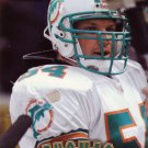 Football Trading Card Zach Thomas Pinnacle 1997 Dolphins
