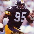 Greg Lloyd Pinnacle 1997 Football Trading Card Steelers