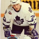 Todd Gill Topps Stadium Club 1993 Hockey Trading Card Maple Leafs
