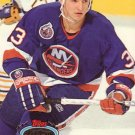 Benoit Hogue Topps Stadium Club 1993 Hockey Trading Card Islanders