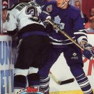 Hockey Trading Card Maple Leafs Sylvain Lefebvre Topps Stadium Club 1993