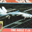 Desert Storm Trading Card Topps 1991 2nd Series The Agile F 14