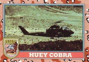 Desert Storm Trading Card Topps 1991 2nd Series Huey Cobra