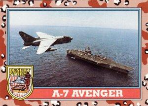 Desert Storm Topps 1991 Trading Card 2nd Series A7 Avenger