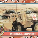 Desert Storm Topps 1991 Trading Card 2nd Series Medical Support