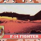 Desert Storm Topps 1991 Trading Card 2nd Series F14 Fighter