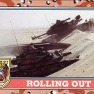 Desert Storm Topps 1991 Trading Card 2nd Series Rolling Out