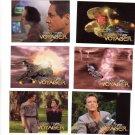 Star Trek Voyager Trading Cards 1995  Cards 1 - 6