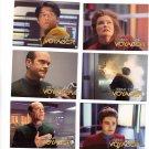 Star Trek Voyager Trading Cards 1995  Cards #19, 20, 21, 22, 23, 25