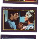 Star Trek 25th Anniversary Trading Cards 1991 Cards #9, 13, 291