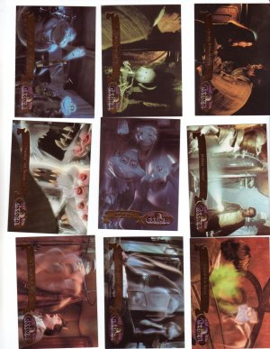 Casper Trading Cards Fleer Ultra 1995  Cards #23 thru 31