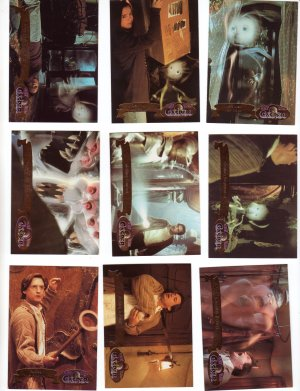 Casper Trading Cards Fleer Ultra 1995  Cards #18, 20, 22, 24, 26, 28, 31, 33, 34