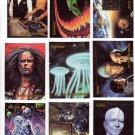 Star Trek Trading Cards Skybox 1993 Cards #19, 35, 53, 65, 68, 73, 74, 75, 82