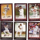 Topps 2008 Trading Cards Baseball (6) Bowman with 2 rookies