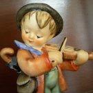 Vintage Hummel Violin Fiddler Boy w/ Umbrella, M.I. Hummel, TMK - 5 Mark, 1972-1979