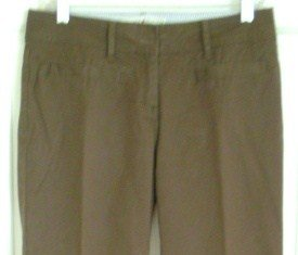 Tommy Hilfiger Brown Low-Rise Flaired Pants / Slacks, Size 4