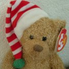 Skis the Holiday Bear : Retired Ty Beanie Baby