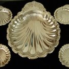 Classic Leonard Silverplated Clam Shell Server