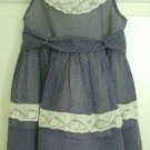 Vintage 1960's Helen Lee Toddler Girls Pinafore Dress, 2-3T
