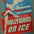 Vintage 1948 First Edition Boris Petroff's HOLLYWOOD ON ICE Souvenir Program