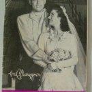 Vintage 1948 Souvenir Program, Ridge Bond & Carolyn Adair in Oklahoma! at the Biltmore Theatre