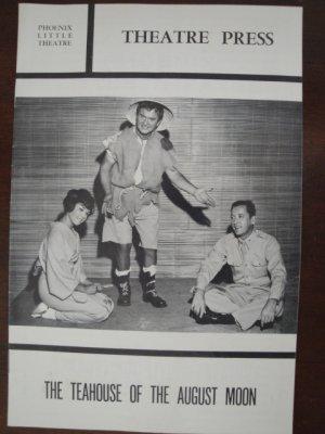 1964 Arizona Phoenix Little Theatre Souvenir Program, The Teahouse of the August Moon