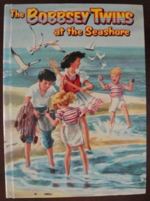 """""""The Bobbsey Twins at the Seashore"""" by Laura Lee Hope, HC, 1954, Celluloid"""