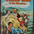 """""""The Bobbsey Twins in the Country"""" by Laura Lee Hope, HC, 1953, Celluloid"""