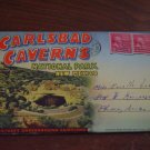 Carlsbad Caverns National Park, New Mexico Linen Postcard Post Card, Used, 1953