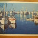 Monterey Bay, California Taylorchrome Color Postcard Post Card, Used, 1950's