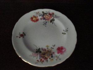 Royal Crown Derby Dessert Plate, Posie Pattern