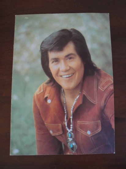 Wayne Newton Large Format Fold Over Post Card From The
