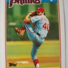 1988 Topps Mini Baseball Card, Steve Bedrosian, Phillies