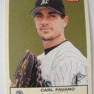 2005 Fleer/Skybox, Baseball Card, Carl Pavano, Marlins