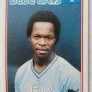 1988 Topps Mini Baseball Card, Tony Fernandez, Blue Jays